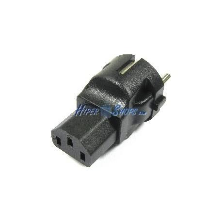 Adaptador de conector IEC60320 C13 a Schuko
