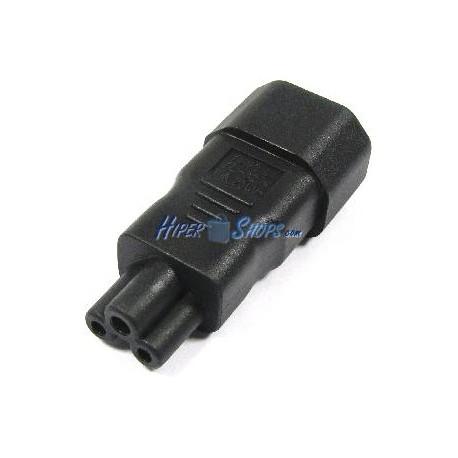 Adaptador de conector IEC-60320 C5 a C14