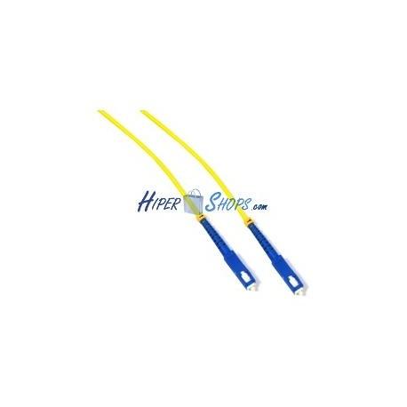 Cable de fibra óptica SC a SC monomodo simplex 9/125 de 10 m