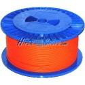 Bobina de fibra óptica 62.5/125 multimodo 3.0 mm simplex de 1000 m