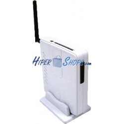 Router 3G con HSUPA HSDPA UMTS EGPRS GPRS CARDBUS USB y WIFI