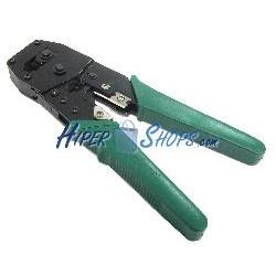 Herramienta crimpadora cortadora peladora para RJ11 RJ12 RJ45 6P4C 6P6C 8P8C