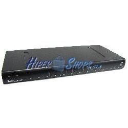 RackMatic Conmutador KVM USB y PS2 de 8 puertos 1U
