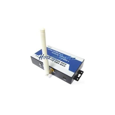 Control remoto por GSM de 2 entradas y 2 salidas digitales