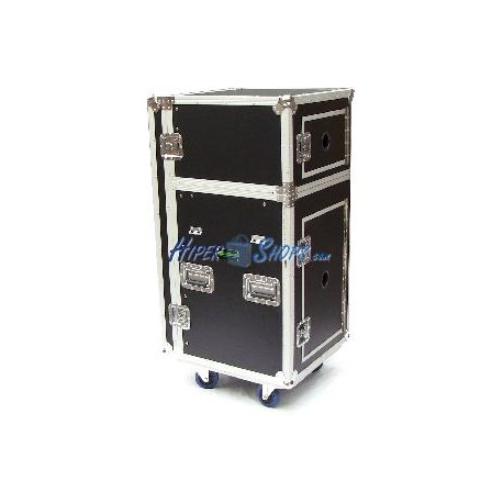 Mesa de control audiovisual rack 19 de dos módulos RackMatic