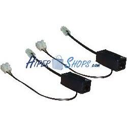 Power over Ethernet PoE kit pasivo de dos módulos