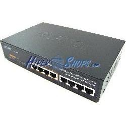 PoE-Switch 10/100Mbps IEEE802.3af RACK10 (4UTP+4PoE)