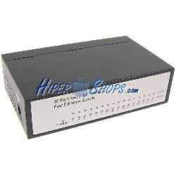 Conmutador LAN switch 10/100Mbps 16UTP