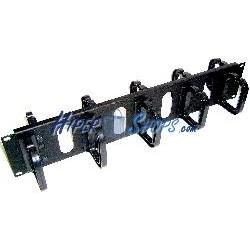 RackMatic Panel guíacables de 2U doble