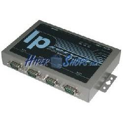 Servidor IP RS232 RS422 RS485 TopView de 4 puertos