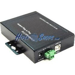 Adaptador USB a RS232 (2-Port DINRail)