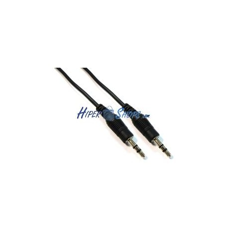 Cable Audio Stereo MiniJack 3.5-M/M 1.8m