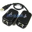 USB 1.1 Extension Cable AM a 1 AH UTP de 60m
