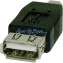 Adaptador USB (AH/MiniUSB5pin-M) Tipo A