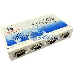 Adaptador USB a RS-422/485 VSCOM (4-Port DINRail)