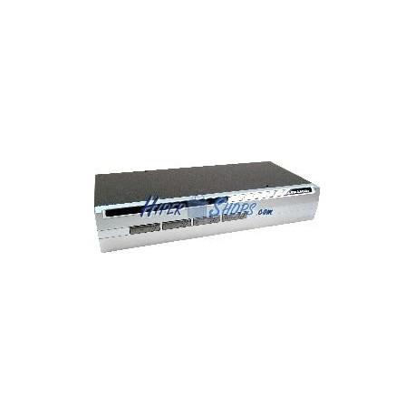 Conmutador KVM Uniclass USB2 VGA AUDIO 1KVM a 4CPU