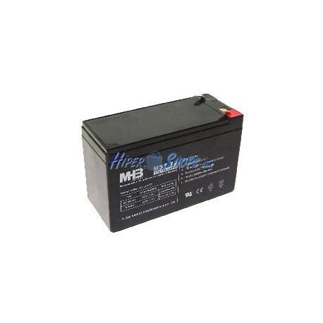 Batería sellada de plomo-ácido de 12V 7Ah recambio SAI