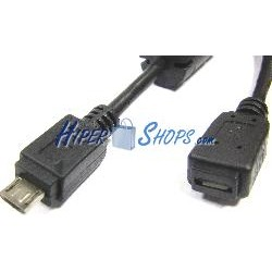 Cable USB 2.0 (MicroUSB-M Tipo B a MicroUSB-H Tipo A y B) 1,8m