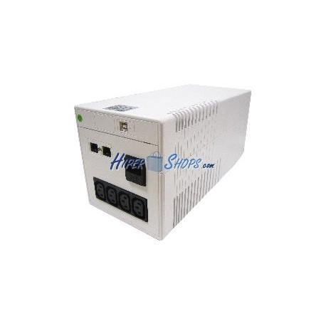SAI de línea interactiva sinusoidal Imperial de 1000 VA con 4 IEC
