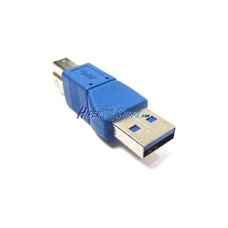 Adaptador USB 3.0 (A Macho a B Macho)