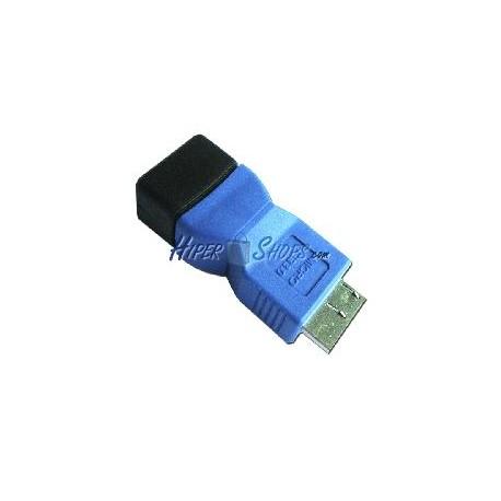 Adaptador USB 3.0 (A Hembra a MicroUSB B Macho)