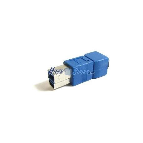 Adaptador USB 3.0 a USB 2.0 (B Macho a MiniUSB 5 Pins B Hembra)