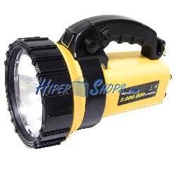 Linterna halógena y LED recargable de doble uso