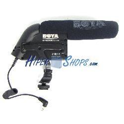 Micrófono para cámara unidireccional BOYA BY-VM200
