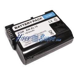 Batería compatible con Nikon EN-EL15