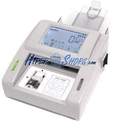 Detector de billetes EUR falsos con totalizador LCD