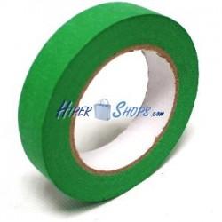 Cinta adhesiva verde croma 25mmx50m