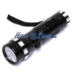 Linterna 14 LED UV para billetes y documentos