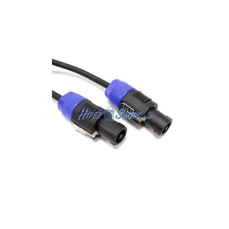 Cable speakon altavoces NL2 2x1.5mm 15GA 3m