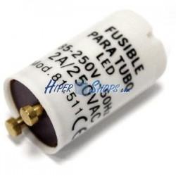 Fusible para tubo LED 2A 250VAC