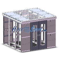 Datacenter módulo central 2x42U 800x1000 central de RackMatic