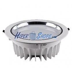 Downlight empotrable LED 12W 95-125mm blanco día