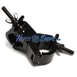 Abrazadera doble negra para Truss o barra de iluminación de 30mm