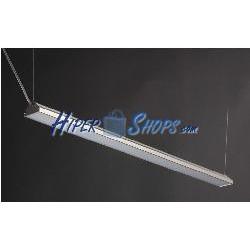 Lámpara LED colgante rincón 220VAC 40W blanco frío/día