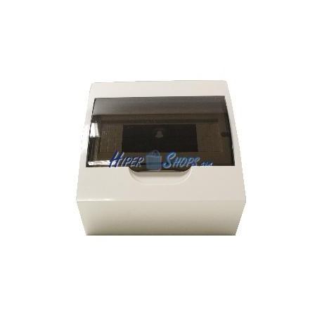 Caja de distribución eléctrica SPN 8M IP40 de empotrar de plástico ABS