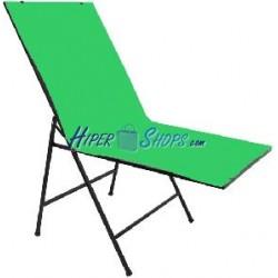 Croma key para mesa de bodegón de 68x130 cm PVC verde