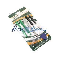 Kit de herramientas para dispositivos electrónicos de 7 piezas modelo BEST-588