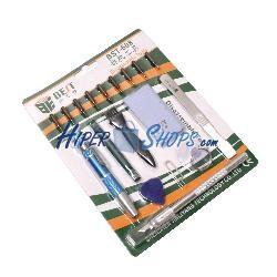 Kit de herramientas para dispositivos electrónicos de 18 piezas modelo BEST-608