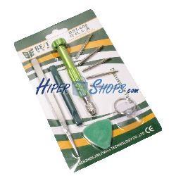 Kit de herramientas para dispositivos electrónicos de 10 piezas modelo BEST-600