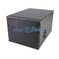 Caja cúbica ATX 4 discos duros SATA extraibles con cable eléctrico