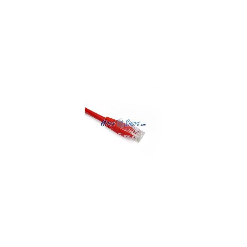 Cable de red utp categor a cat 6 rojo de 10m hiper electr n for Cable de red categoria 6