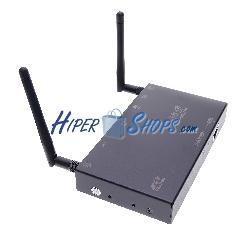 Rextron sistema de transmisión inalámbrico de HDMI VGA por WIFI ethernet modelo WFV-2401