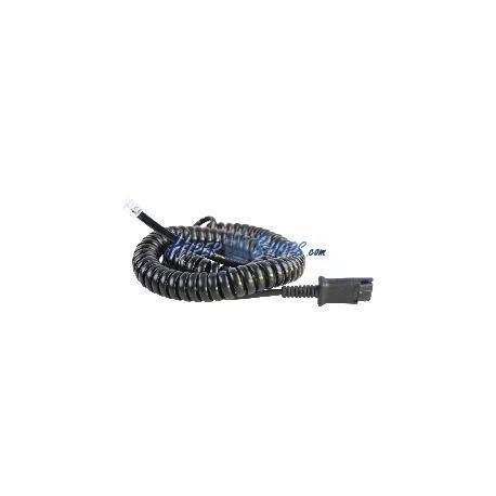 Cable Plantronics QD a teléfono RJ9 para Cisco 7900