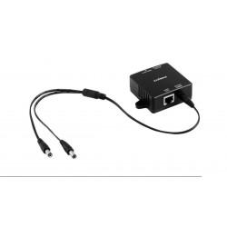 Splitter POE 802.3af Gigabit con salida 5V/9V/12V 100m