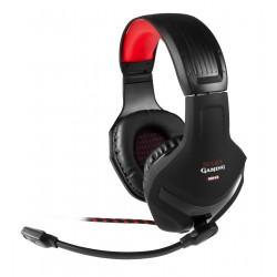 Mars Gaming MH2 - Mars Gaming MH2 Binaurale Diadema Negro, Rojo auricular con micrófono