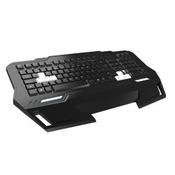 Mars Gaming MKHA1 - Mars Gaming MKHA1 USB Negro, Color blanco teclado